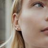 Gouden ATLITW STUDIO Oorbellen PARADE EARRINGS LIPS - small