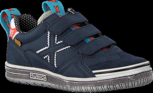 Blauwe MUNICH Lage sneakers G3 VELCRO  - large