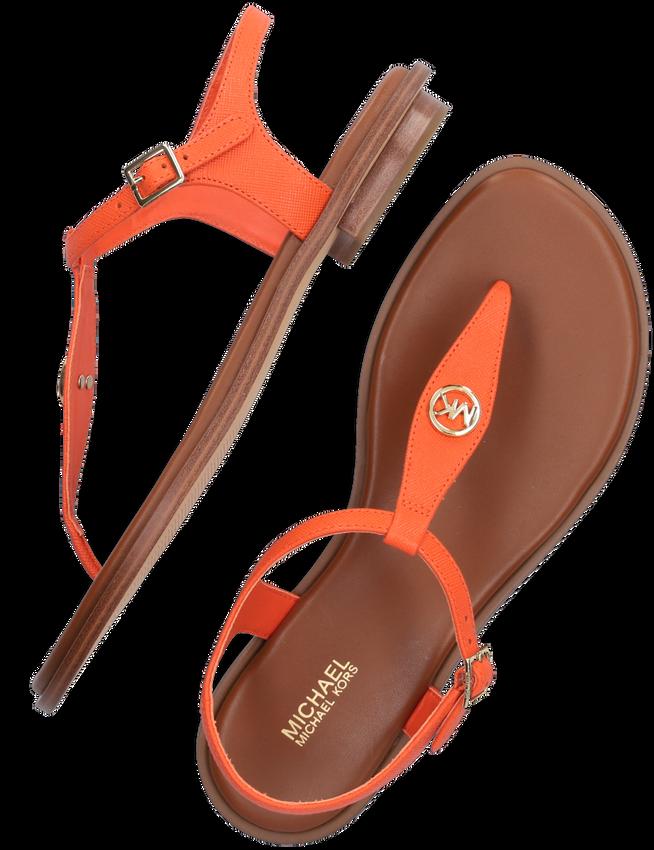 Oranje MICHAEL KORS Sandalen MALLORY THONG  - larger