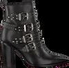 Zwarte BRONX Enkellaarsjes 33968  - small