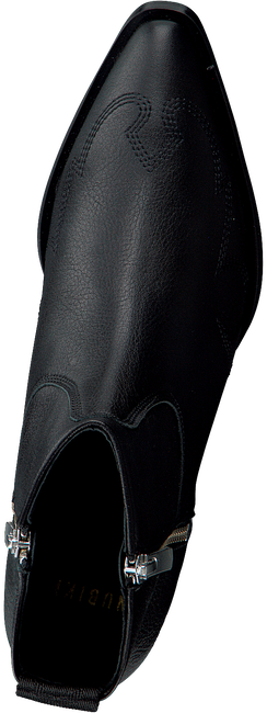 Zwarte NUBIKK Enkellaarsjes HOLLY GOLF  - large