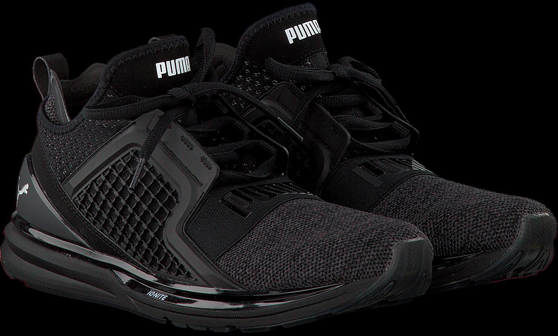 Les Hommes Pumas Enflamment Tricot Sans Limite Cross-trainer - Noir - 44 Eu UiBOH4SB3D