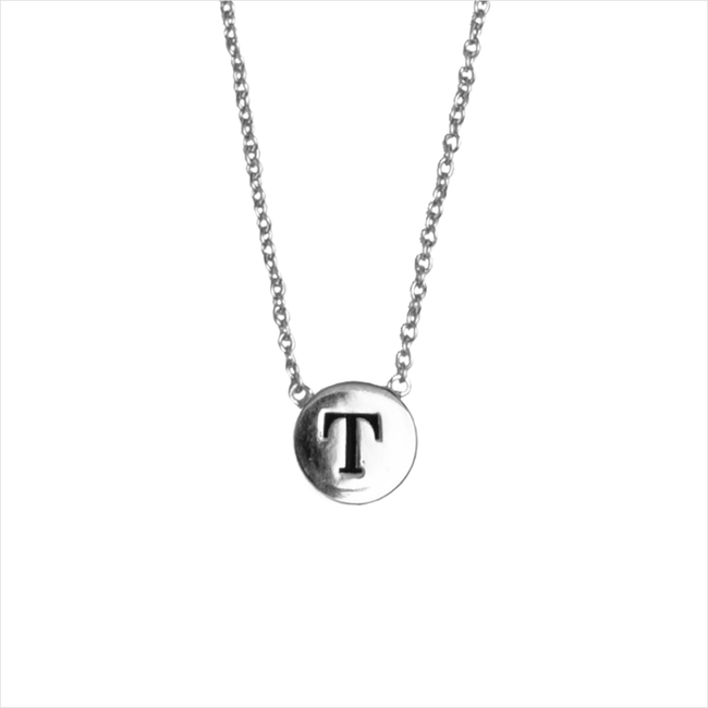 Zilveren ALLTHELUCKINTHEWORLD Ketting CHARACTER NECKLACE LETTER SILV - large