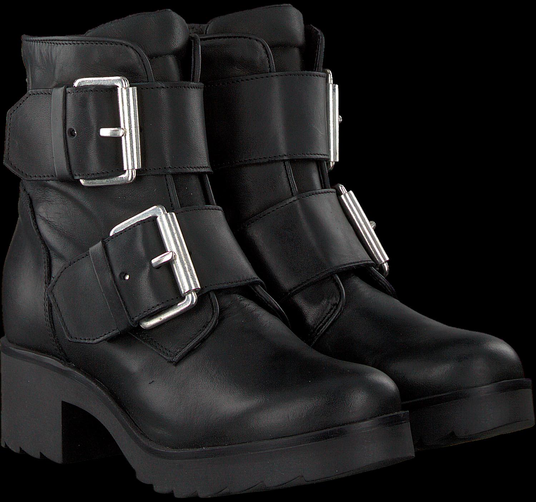 Zwarte PS POELMAN Biker boots P13654 | Omoda
