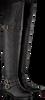 Zwarte TOMMY HILFIGER Overknee laarzen A1285LISSA 2A  - small