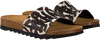 Witte THE WHITE BRAND Slippers BIO LEOPARD - small