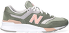 Groene NEW BALANCE Lage sneakers CW997  - small