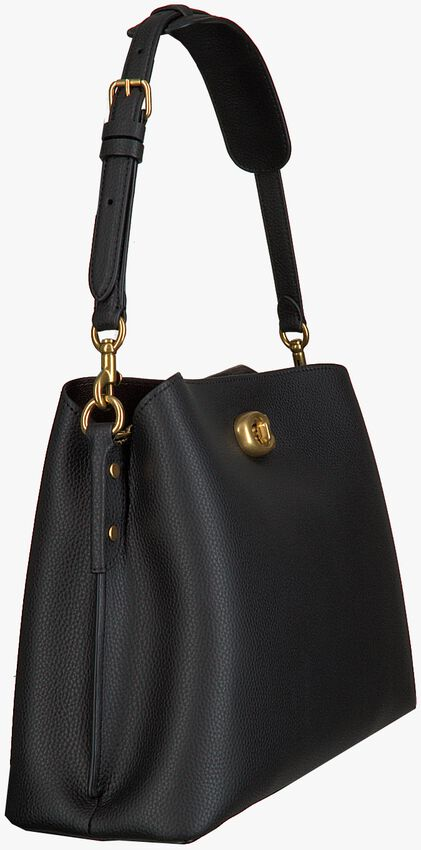 Zwarte COACH Schoudertas WILLOW SHOULDER BAG - larger
