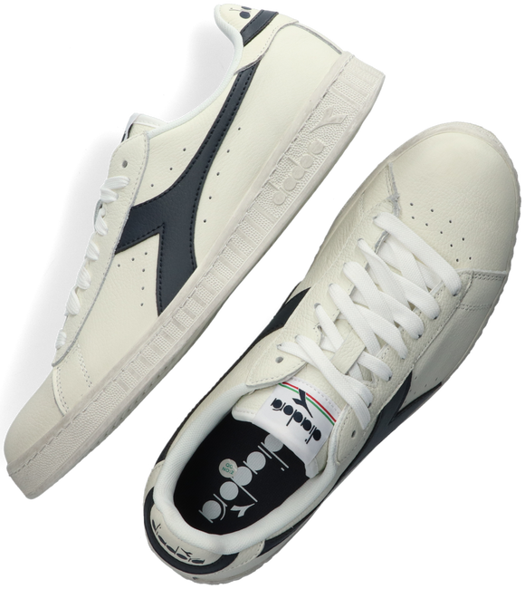 Witte DIADORA Lage sneakers GAME L LOW WAXED - large