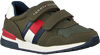 Groene TOMMY HILFIGER Lage sneakers LOW CUT VELCRO SNEAKER  - small