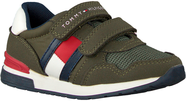 Groene TOMMY HILFIGER Lage sneakers LOW CUT VELCRO SNEAKER  - large