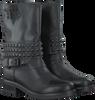 Zwarte PS POELMAN Biker boots R14174  - small