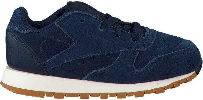 Blauwe REEBOK Sneakers CL LEATHER KIDS  - large
