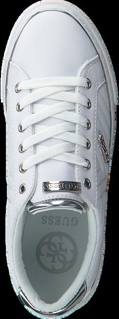 Witte GUESS Sneakers GROOVIE  - large