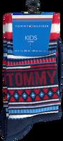 Rode TOMMY HILFIGER Sokken TH KIDS SOCK 2P MULTI COLOR  - medium