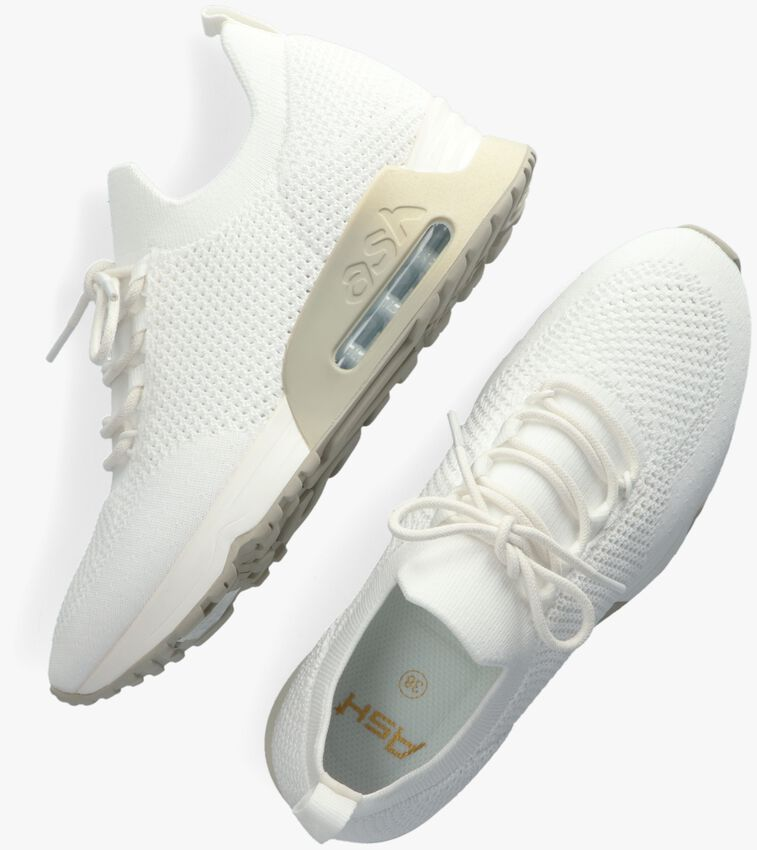 Witte ASH Lage sneakers LUNATIC  - larger