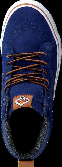 Blauwe VANS Sneakers UY SK8-HI MTE KIDS  - large
