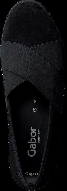 Zwarte GABOR Instappers 622 - large