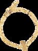 Gouden ALLTHELUCKINTHEWORLD Armband ELEMENTS BRACELET TALL PINEAPP - small