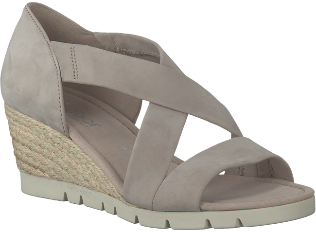 Taupe GABOR Sandalen 853  - large