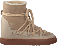 Beige INUIKII Enkelboots CLASSIC WEDGE - medium