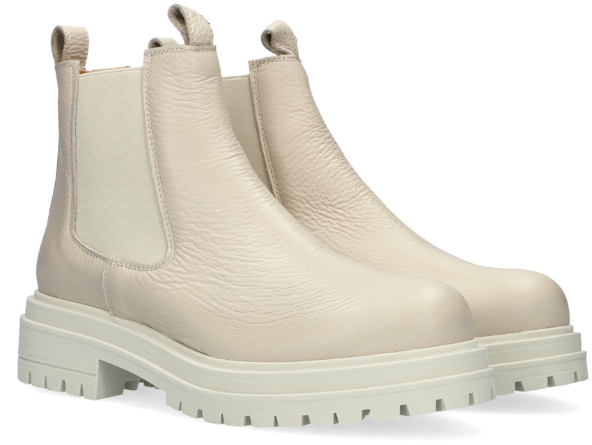 Beige CA'SHOTT Chelsea boots 24203  - larger