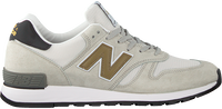 Witte NEW BALANCE Lage sneakers M670  - medium