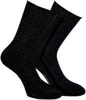 Zwarte MARCMARCS Sokken ERICA COTTON 2-PACK - medium