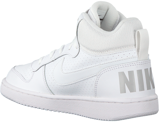 Witte NIKE Sneakers COURT BOROUGH MID (GS)  - large