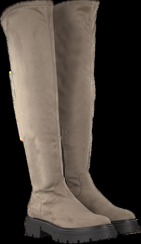 Beige NOTRE-V Overknee laarzen 01-6100  - larger