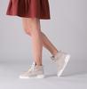 Beige LEMARÉ Hoge sneaker 2300S  - small