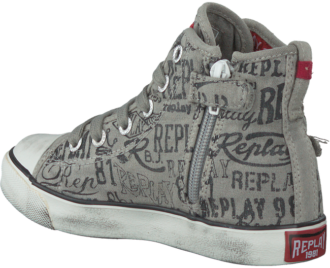 Grijze REPLAY Sneakers KING GEORGE  - large
