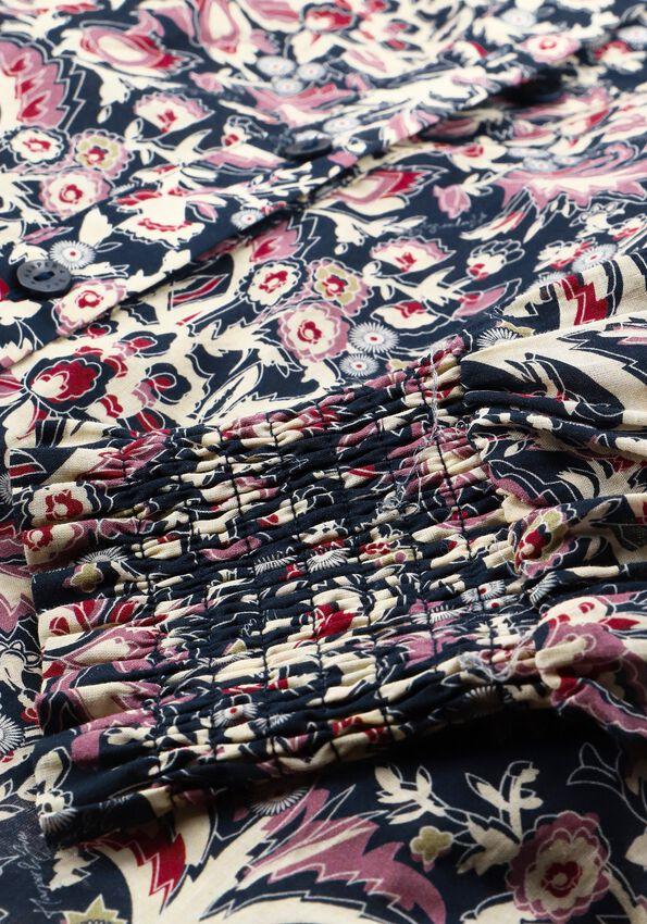 Donkerblauwe HARPER & YVE Blouse GABY-LS  - larger