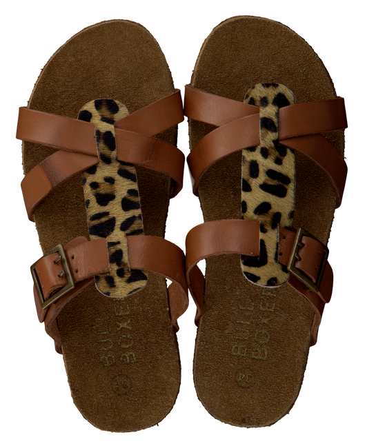 Bruine BULLBOXER Slippers AFS003  - large