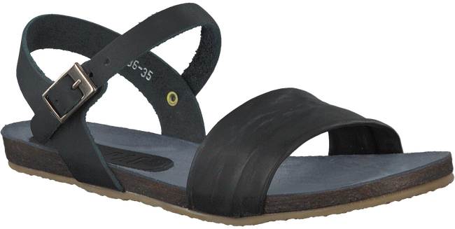 Zwarte RED RAG Sandalen 19136  - large