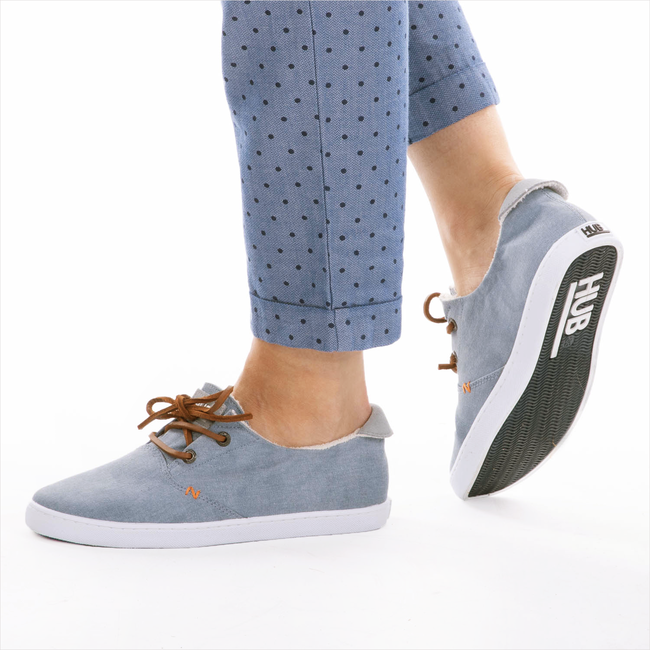 Blauwe HUB Sneakers KYOTO  - large