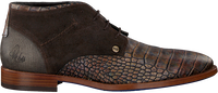 Bruine REHAB Nette schoenen SALVADOR CROCO - medium