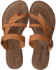 Cognac LAZAMANI Slippers 75.608  - small