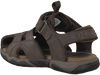 Bruine TIMBERLAND Sandalen OAK BLUFFS LEATHER FISHERMAN  - small