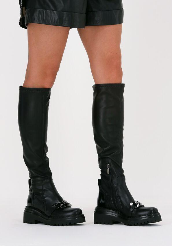Zwarte LAURA BELLARIVA Hoge laarzen 7301CA  - larger
