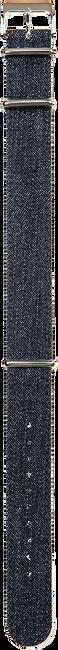 Blauwe TIMEX Overig DENIM STONE WASHED 20MM - large