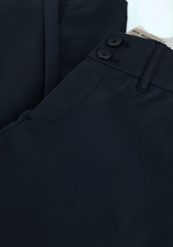Donkerblauwe MOS MOSH Pantalon BLAKE NIGHT PANT SUSTAINABLE - larger