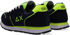 Blauwe SUN68 Lage sneakers BOYS TOM SOLID FLUO  - small