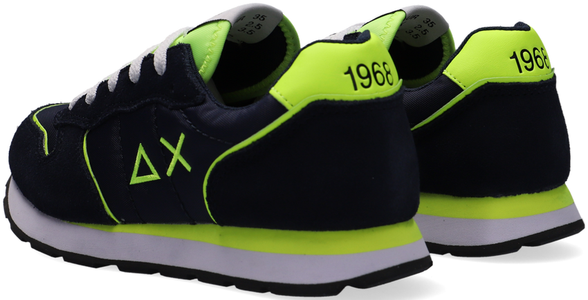 Blauwe SUN68 Lage sneakers BOYS TOM SOLID FLUO  - larger