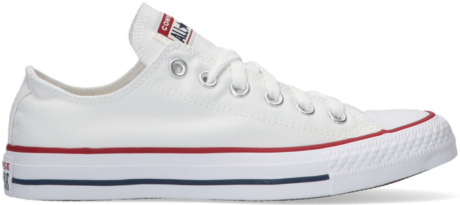 witte converse sneakers chuck taylor all star ox dames