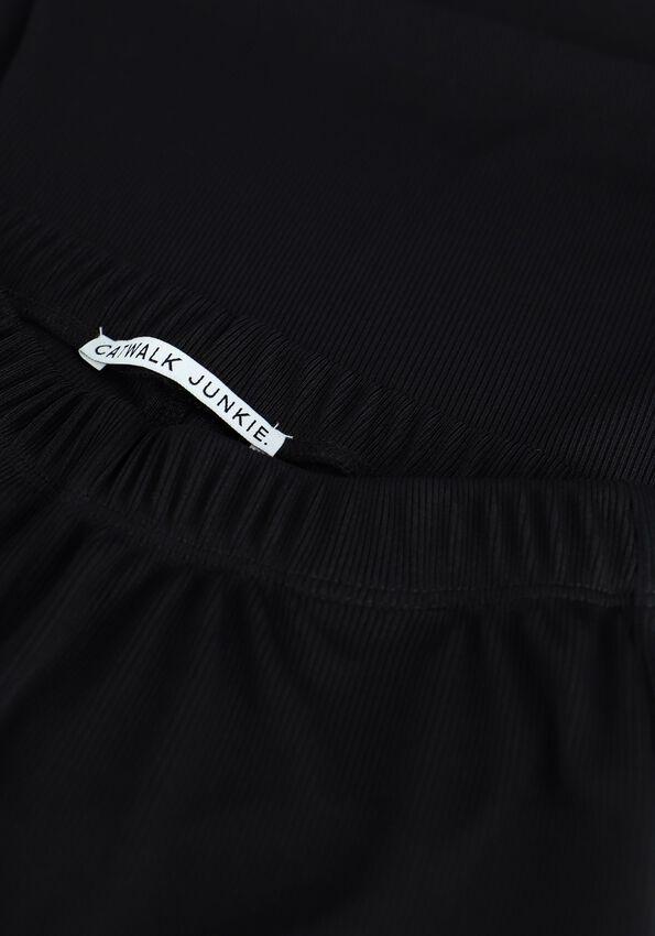 Zwarte CATWALK JUNKIE Flared broek TR PARTY PANTS - larger