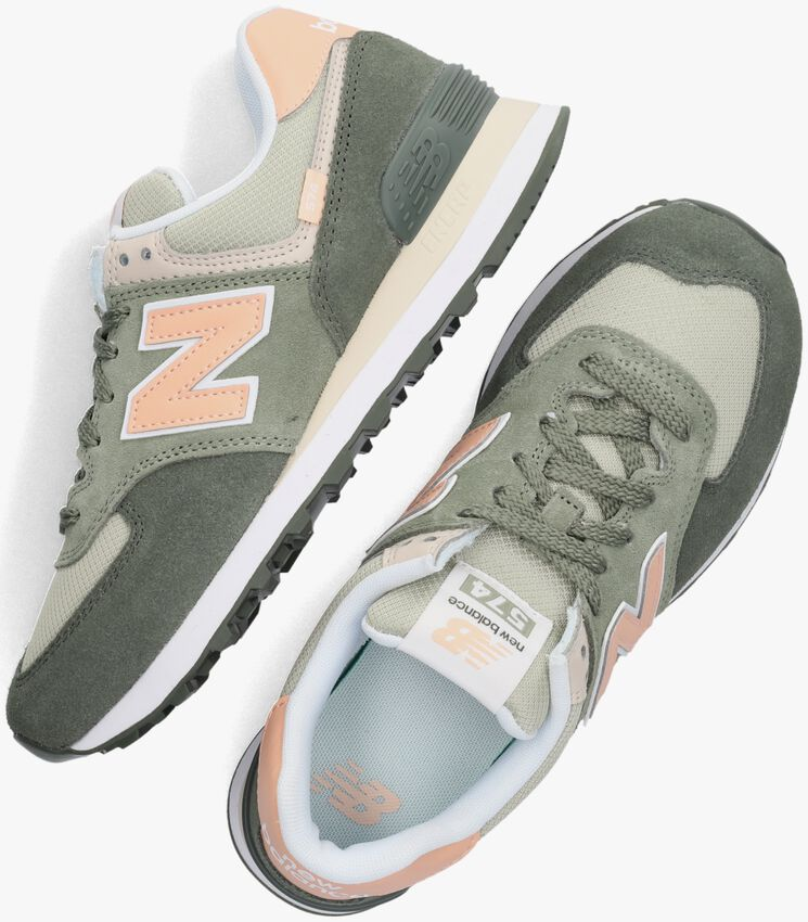 Groene NEW BALANCE Lage sneakers WL574  - larger