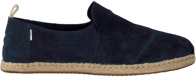 Blauwe TOMS Instappers DECONSTRUCTED ALPARGATA ROPE M - large