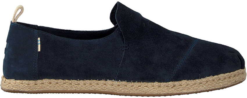 Blauwe TOMS Instappers DECONSTRUCTED ALPARGATA ROPE M - larger