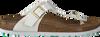 Witte BIRKENSTOCK PAPILLIO Slippers GIZEH  - small